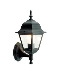 Lanterna da parete per giardino esteriore 4 lati in alluminio E27 60W 230V IP44