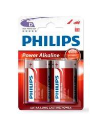 Scatola da 12 blister da 1 pila 9V Philips - batterie alcaline