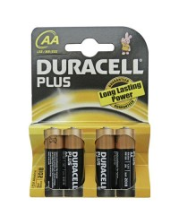 Scatola da 20 blister da 4 pile Duracell Plus LR6 (AA) - batterie alcaline