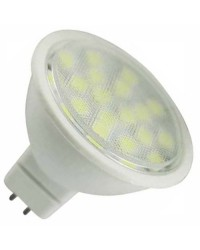 Lampadine LED MR16 4.6W 340lm 120° 2700K