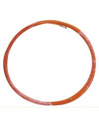 Sonda passacavi professionale in fibra di vetro e metallo da 20 metri, 4mm di grossore