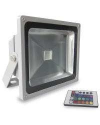 Proiettore LED RGB multicolore 30W ad alta luminosità con telecomando