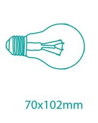 Scatola da 10 lampadine ECO alogene E27 105W (150W) 1500Lm standard