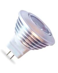 Lampadine LED MR11 3W 12V 100Lm 3000K