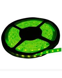 Rotolo di 5 metri LED 7,2W/mt color verde, 320LM