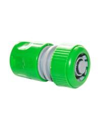 """Raccordo rapido con funzione stop per tubi in PVC  Ø5/8"""""""