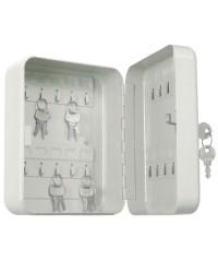 Cassetta metallica portachiavi. 20 mazzi di chiavi