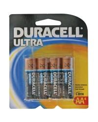 Scatola da 12 blister da 4 pile alkalina Duracell Ultra LR6 (AA)
