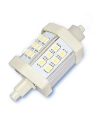 Lampada LED lineare 4W R7s 78mm 360Lm, luce calda 3000K