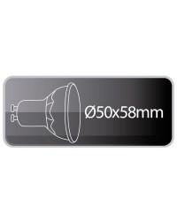 Lampadine LED smd GU10 8W 556lm 6400K