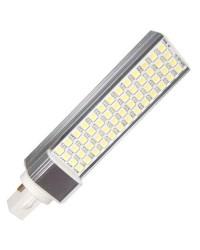 Lampadina con 24 LEDs SMD5630 / PLC G24 11W 1000lm 6000K luce fredda