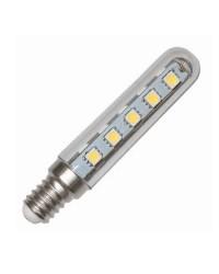 Lampadine LED tubolari E14 3W 250lm 3000K 360º
