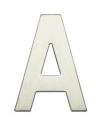 """Lettera Porta in acciaio inox """"A"""""""