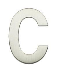 """Lettera Porta in acciaio inox """"C"""""""