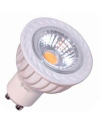 Lampadine dimmerabili LED Cob GU10 6000K 6W 460LM 50º
