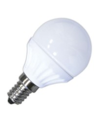 Lampadine LED 470lm sferiche 5W E14 3000K 120º