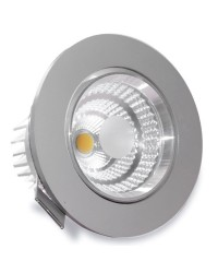 Faretto a incasso LED 9W 810LM 6400K - nichel satinato