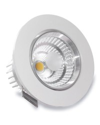Faretto a incasso LED 9W 810LM 6400K - Bianco