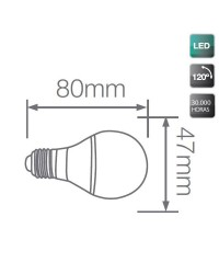 Lampadine decorative LED E27 3W, Gialle
