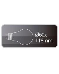 Lampadine LED standard 13W 1200lm E27 3000K 160º