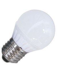 Lampadine LED 560lm sferiche 6W 3000K 120º