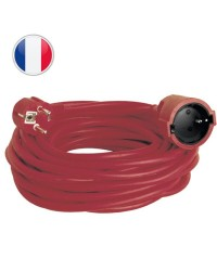 Prolunga elettrica rossa 10M