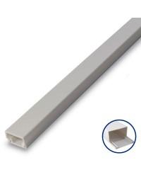 Scatola da 50 Mini canalina adesiva in PVC 8x12mm