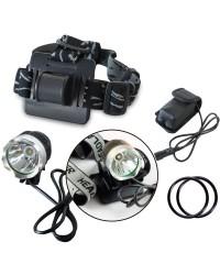 Torcia LED frontale per fronte e bicicletta 800lm