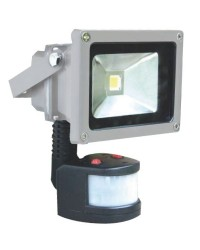 Proiettore LED 20W 1400lm 6000K con sensore di movimento