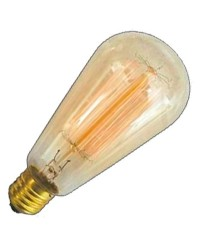 Lampadina decorativa tipo pera E27 40W 120lm 2700K