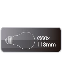 Lampadine LED standard 8W 500lm E27 6000K