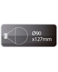 Lampadina LED Globo E27 12W 1080lm 6000K 180º