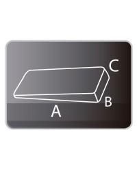 Ferma porta mobile in PVC