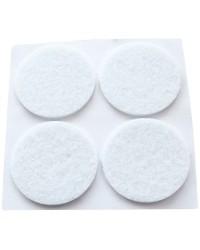 Feltrini adesivi bianco 12 unità