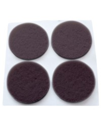 Feltrini adesivi marrone 20 unità