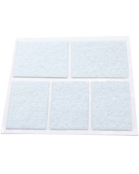 Feltrini adesivi bianco 28x44mm