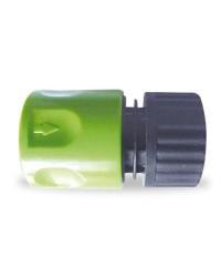 """Raccordo rapido con funzione stop per tubi in PVC  Ø3/4"""""""