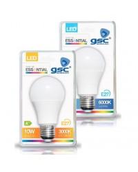 Scatola da 25 Lampadine LED E27 standard 10W 806lm 6000K 160º