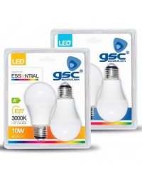Scatola da 25 Pack 2 lampadine LED E27 standard 10W 806lm 6000K 160º