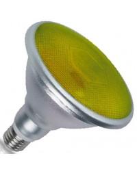 Lampadina LED E27 PAR38 18W 700lm luce gialla