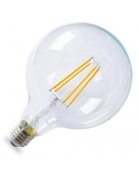 Lampada Serie Oro decorativa globo G125 LED 4W E27 1800K