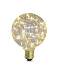 Lampada Starlight decorativa globo G125 LED 2W E27 3000K