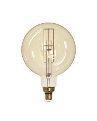Lampada Vintage globo G200 LED 8W E27 1800K regolabile