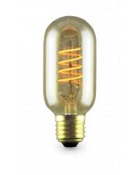 Lampada Decoloop decorativa tubolare T45 LED 4W E27 2000K