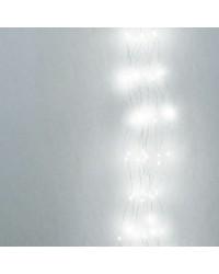 Cascata di luci natalizie LED 6000K 1m 2.4W