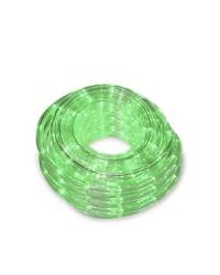 Tubo luminoso flessibile LED verde 48m. IP44