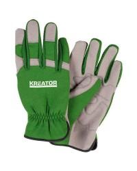 Guanti da giardiniere in pelle sintetica taglia XL KRTG005XL