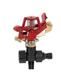 Irrigatore a impulso metallico max. Ø24 m. - Kreator KRTGR6502