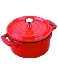 Cacerola Roja Aluminio Fundido D.20 Cms  - Lacor 25920