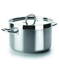 Cacerola Alta Con Tapa D.28 Cm Chef-Luxe - Lacor 54029